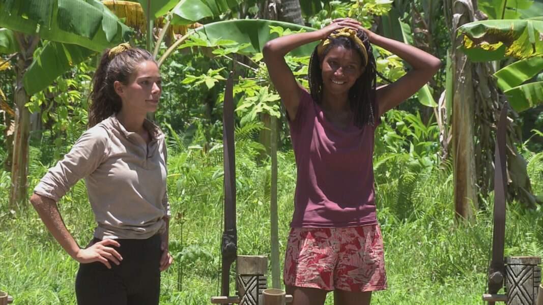 Koh-Lanta, les 4 Terres : Lola et Angélique