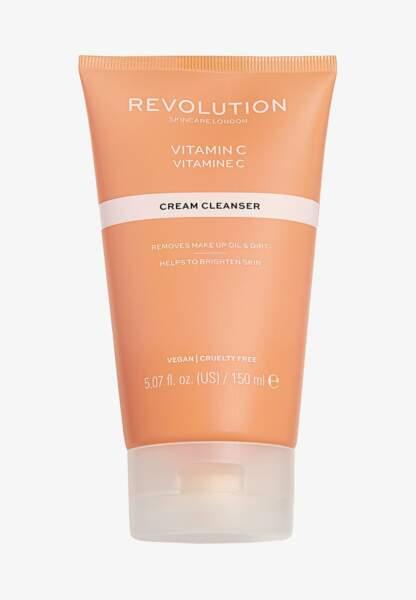Nettoyant pour le visage à la vitamine C, Revolution Skincare, 9,95€les 150ml sur Zalando.fr