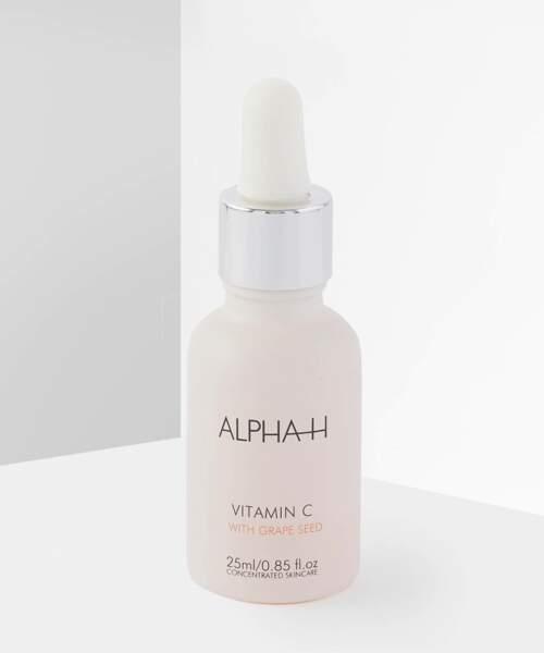 Sérum à la vitamine C, Alpha-H, 43€les 25ml sur Beauty Bay