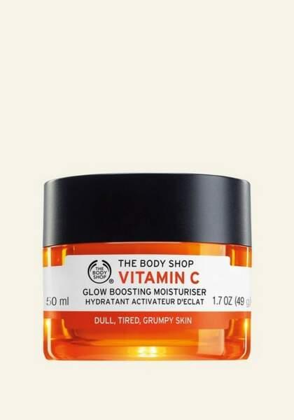 Hydratant Activateur D'Éclat Vitamine C, The Body Shop, 23€les 50ml
