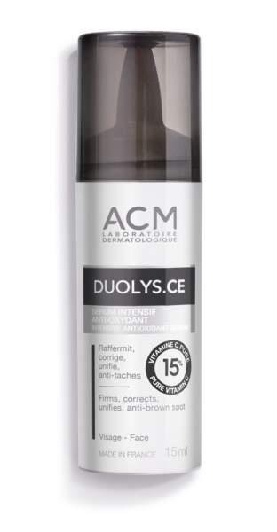 Sérum intensif anti-oxydant Duolys.CE, Laboratoire ACM, 32€ les 15ml