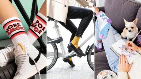 Chaussettes chaudes ou fantaisie, découvrez notre shopping à petits prix