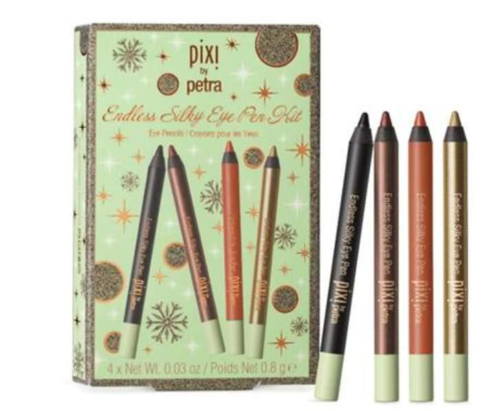 TAUREAU / Endless silky eye pen kit, Pixi, 18€