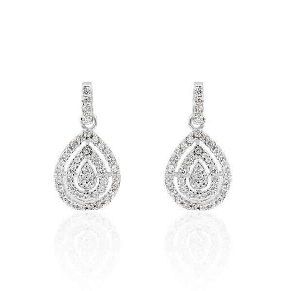 BELIER / Boucles d'oreilles pendantes LYSA, Histoire d'Or, 39€