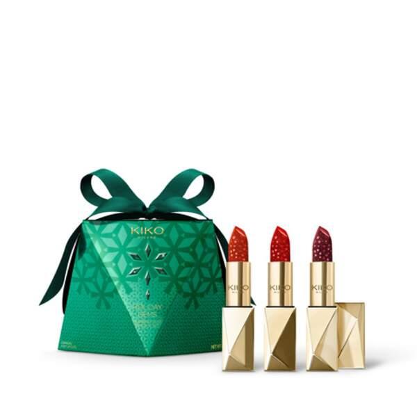 BELIER / Diamond Dust Lipstick Set, Kiko Milano, 24,99€