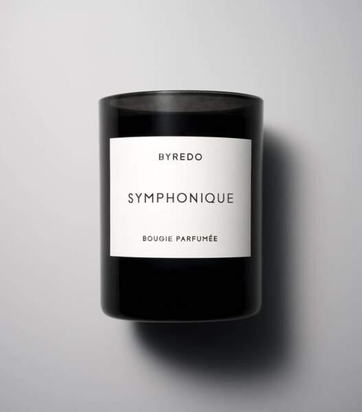 TAUREAU / Bougie Symphonique en édition limitée, Byredo, 62€