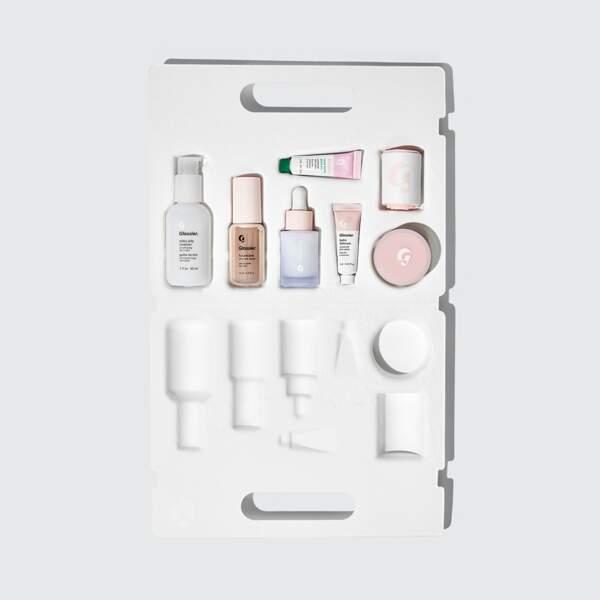 TAUREAU / The Skincare Edit, les essentiels en format mini, Glossier, 50€