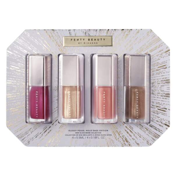 VERSEAU / Coffret De Gloss À Lèvres, Fenty Beauty, 32€ chez Sephora