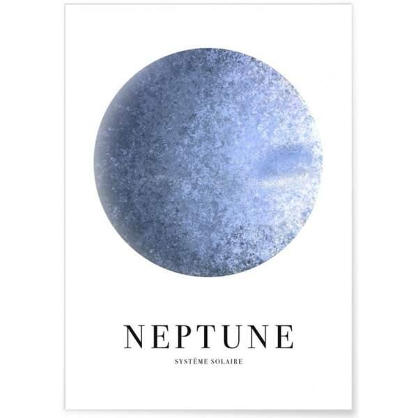 POISSON / Affiche Neptune, L'Afficherie, 9,90€