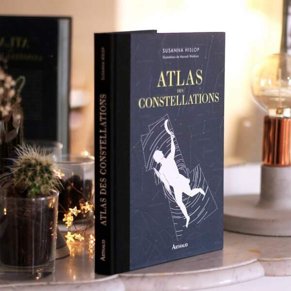 POISSON / Atlas des constellations, Editions Arthaud, 25€