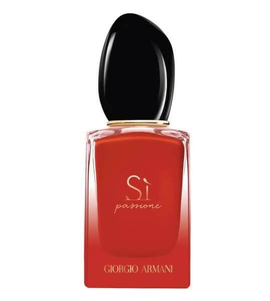 CAPRICORNE / Eau de parfum Sì Passione Intense, Armani, actuellement 70€les 50ml