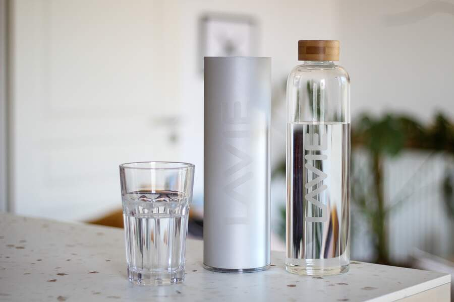 CANCER / Purificateur d'eau 2GO avec bouteille 0,5L, LaVie, 99€