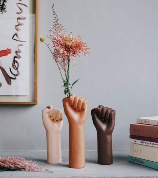 GEMEAUX / Vase Girl Power, 34,95€, lavantgardiste.com