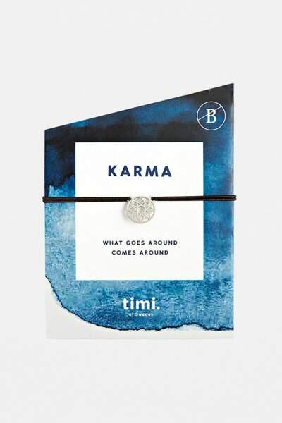 VERSEAU / Bracelet extensible Karma Mandala, Timi of Sweden, 13€chez Urban Outfitters