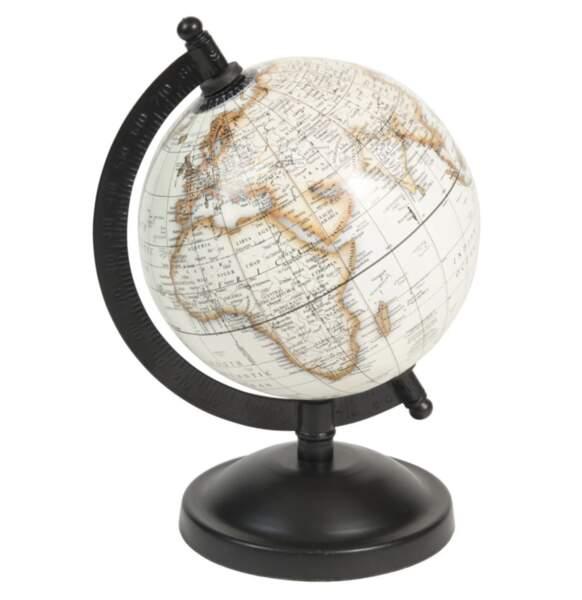 SAGITTAIRE / Globe terrestre carte du monde Athinigane, Maisons du monde, 12,99€