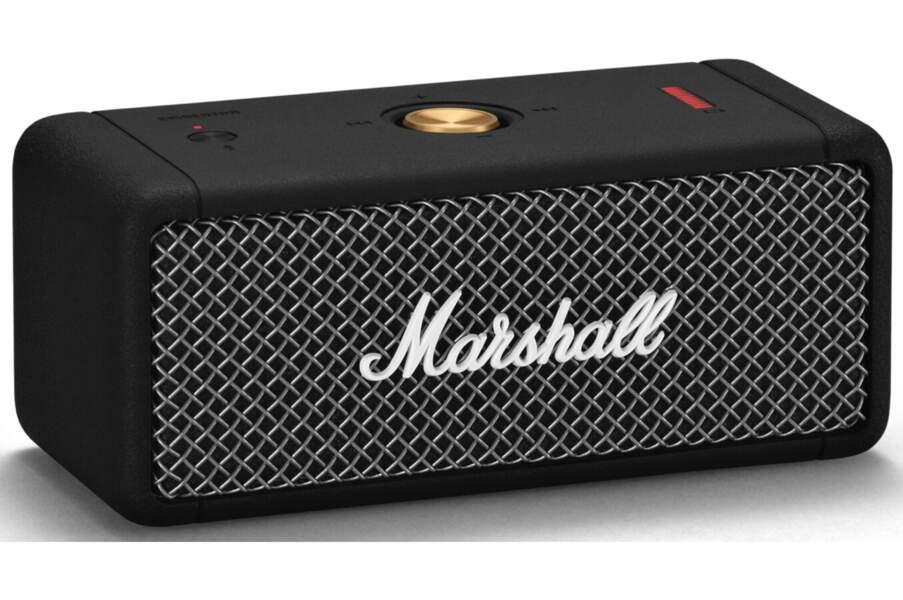 CANCER / Enceinte portable compacte Emberton, Marshall Headphones, 149€