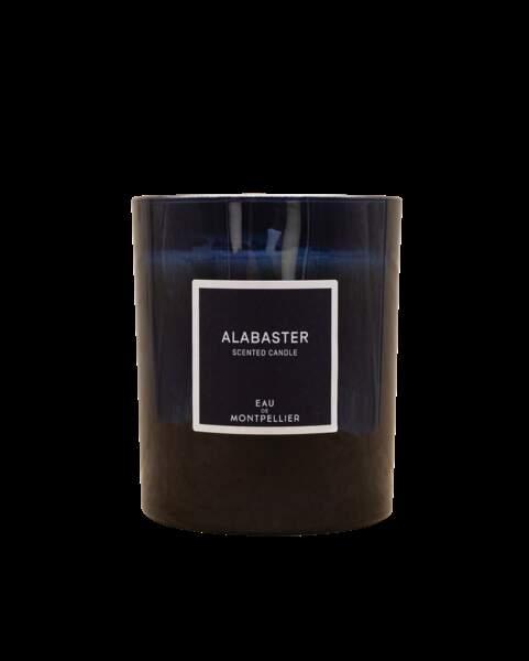 VIERGE / Bougie Alabaster aux fleurs d'oranger et jasmin, Arthur Dupuy, 49€