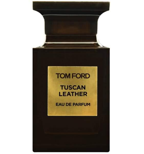 SAGITTAIRE / Eau de parfum Tuscan Leather, Tom Ford, 106€les 30ml