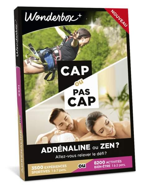 GEMEAUX / Coffret cadeau Cap ou pas Cap ?, Wonderbox, 49,90€