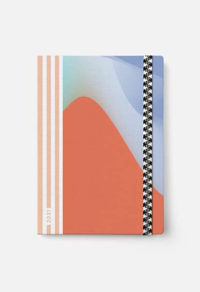 Agenda 2021 Waves L, Papier Tigre, 25€