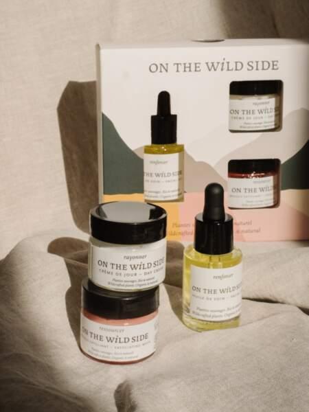 Rituel douceur pour renforcer et purifier la peau, On the wild side, 45€