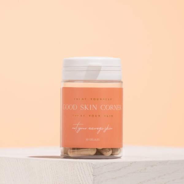 Compléments alimentaires Not Your Average Skin, Good Skin Corner, 35€la cure d'un mois