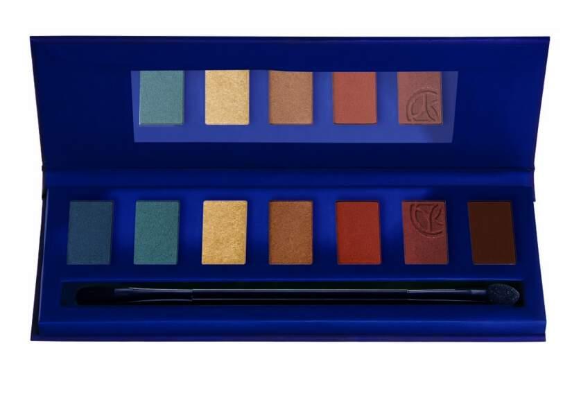 Palette regard 7 teintes, fabriquée en France, Yves Rocher, 15,95 €