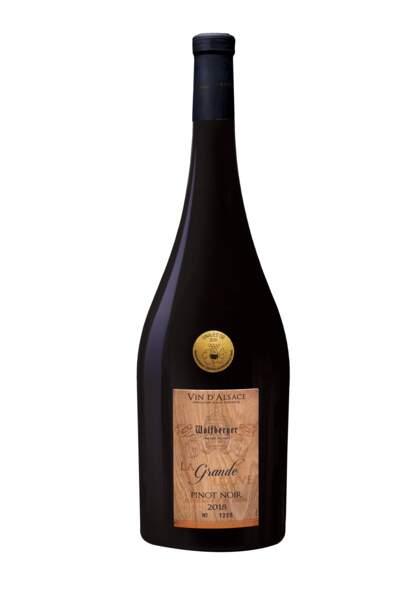 """Magnum de Pinot noir issu du millésime 2018, """"La Grande Louve"""", Wolfberger, 36,50 €"""