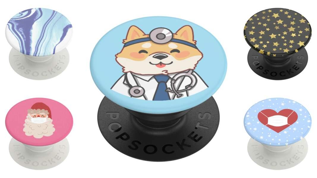 """PopGrips """"poptivism"""" solidaires dont 50% des ventes seront reversés à Médecins sans frontières, à partir de 16,99 € sur popsockets.fr"""