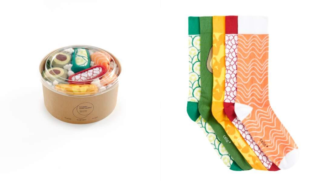 Boîte Noël de chaussettes, Celio*, 29,99 €
