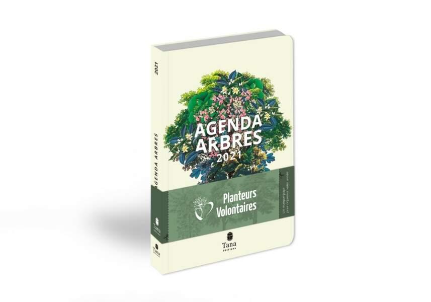 Agenda poétique et engagé Arbres 2021, Tana Editions, 14,90€