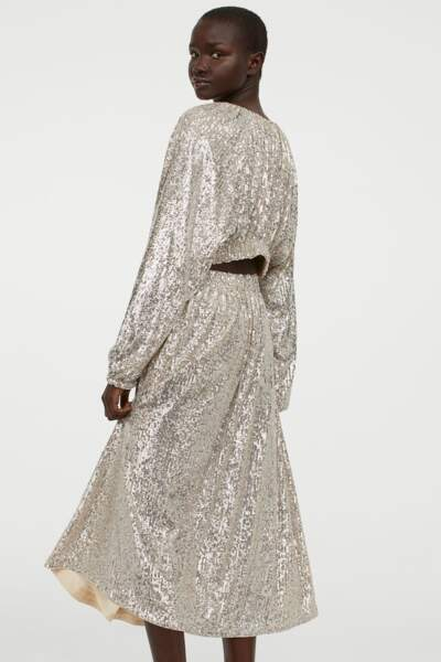 Robe à paillettes, H&M, 49,99€