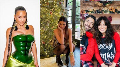 Kendall Jenner, Caroline Receveur, Céline Dion: les looks des stars pour Noël
