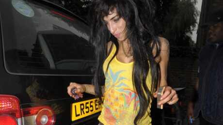 Amy Winehouse sort de studio