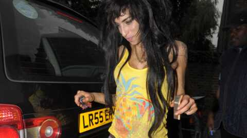 Amy Winehouse sort de studio
