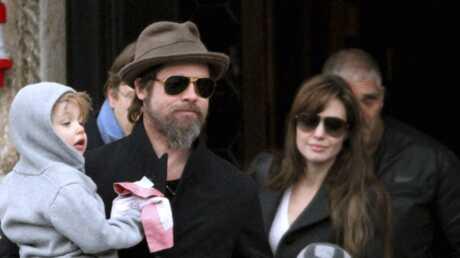 PHOTOS Brad Pitt et Angelina Jolie en famille à Venise