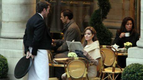 PHOTOS Angelina Jolie en tournage à Paris