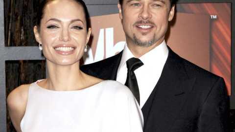 PHOTOS Angelina Jolie, pâle et maigre, aux côtés de Brad Pitt