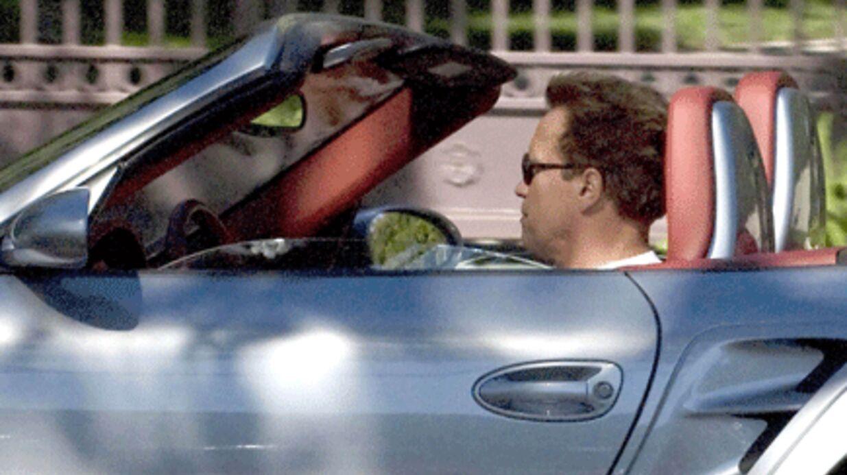 PHOTOS Arnold Schwarzenegger: un gouverneur en Porsche