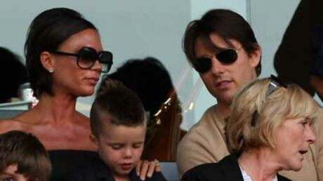 PHOTOS  Victoria Beckham et Tom Cruise en supporters chics