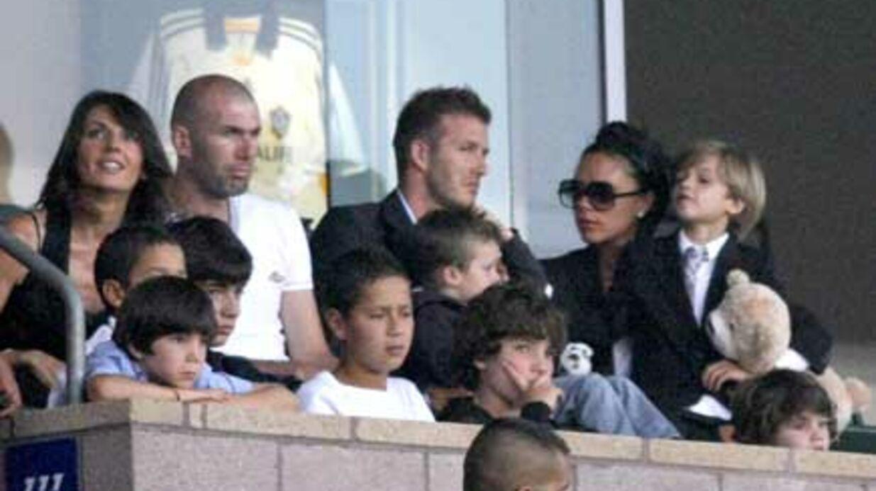 PHOTOS Tensions entre les Zidane et les Beckham