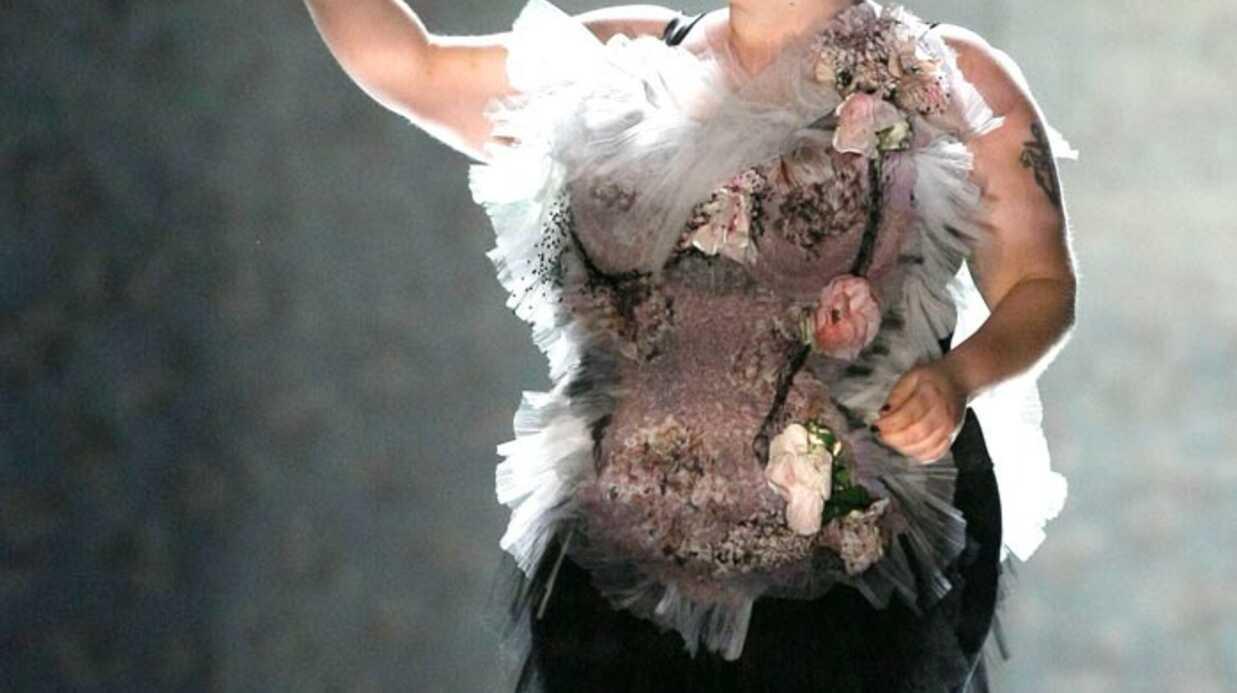 PHOTOS Beth Ditto, mannequin pour Jean-Paul Gaultier