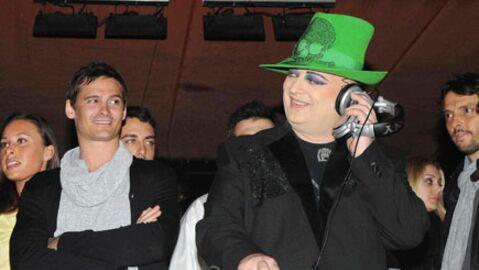 PHOTOS: Boy George mixe à la Sergio Tacchini VIP Party