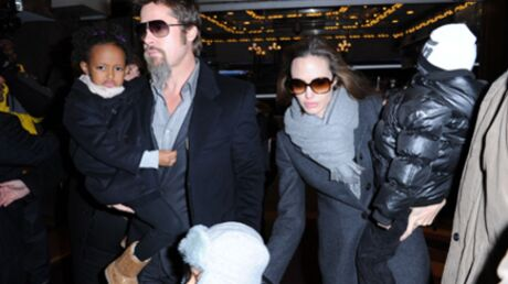 PHOTOS Brad Pitt – Angelina Jolie : Mary Poppins avec les kids