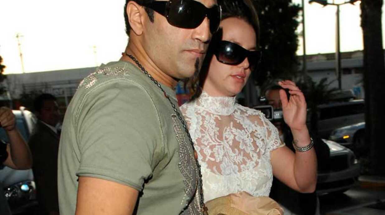 Britney Spears En voiture pour le mariage?