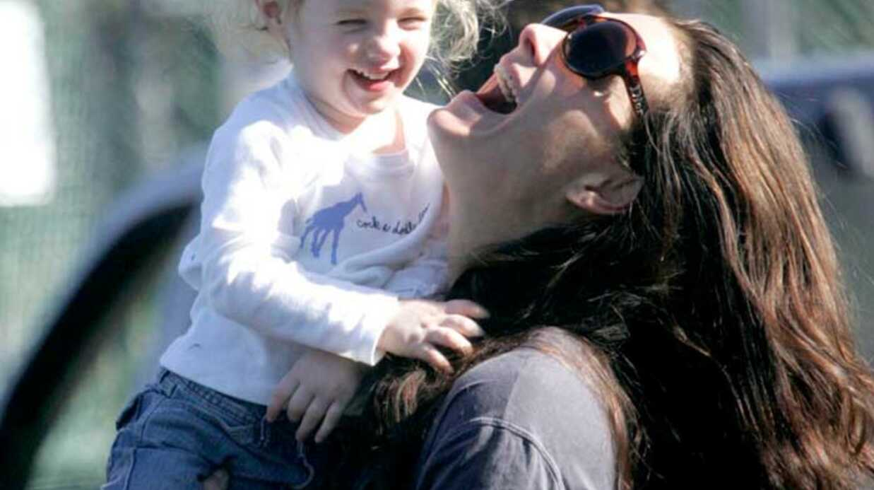 Brooke Shields Maman poule