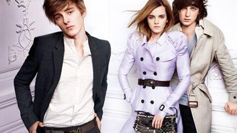 PHOTOS Emma Watson pose avec son frère pour Burberry