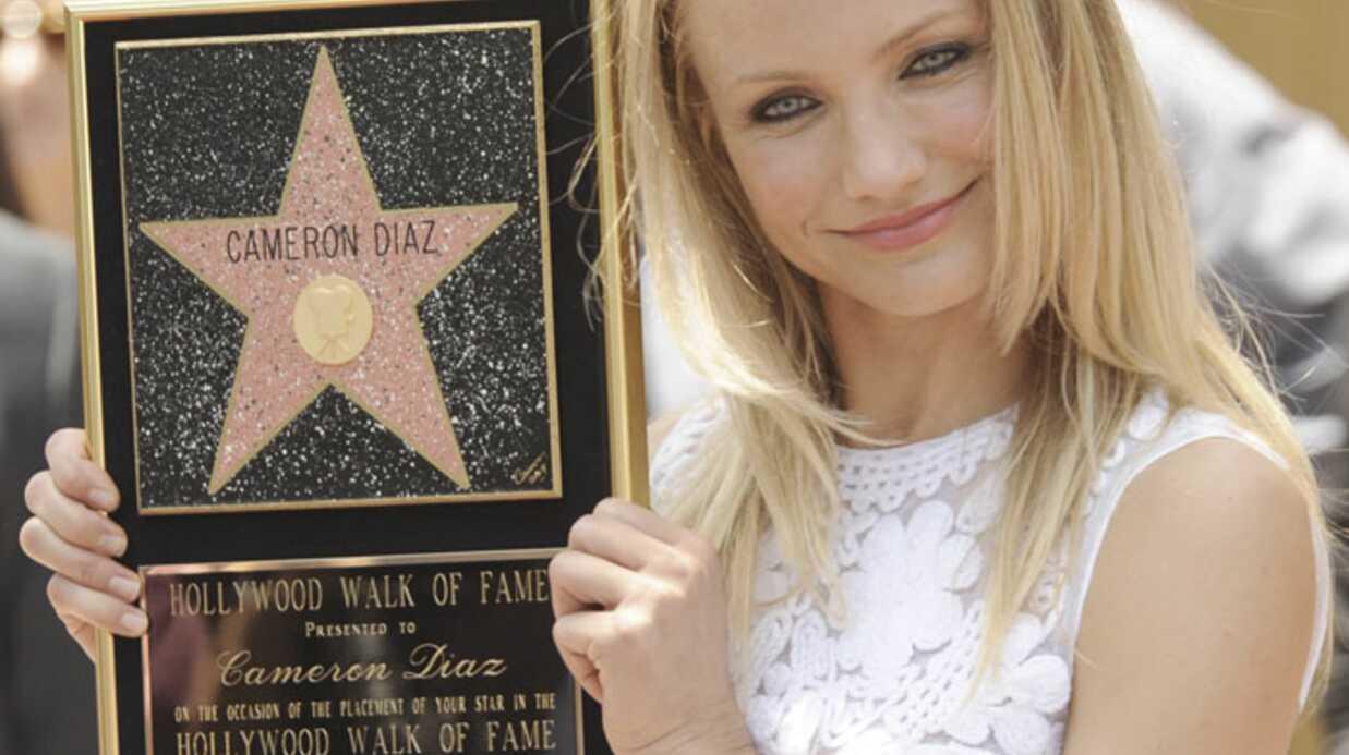 PHOTOS Cameron Diaz a son étoile sur Hollywood Boulevard