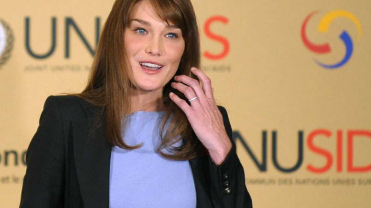 PHOTOS: Carla Bruni : lutte contre le sida