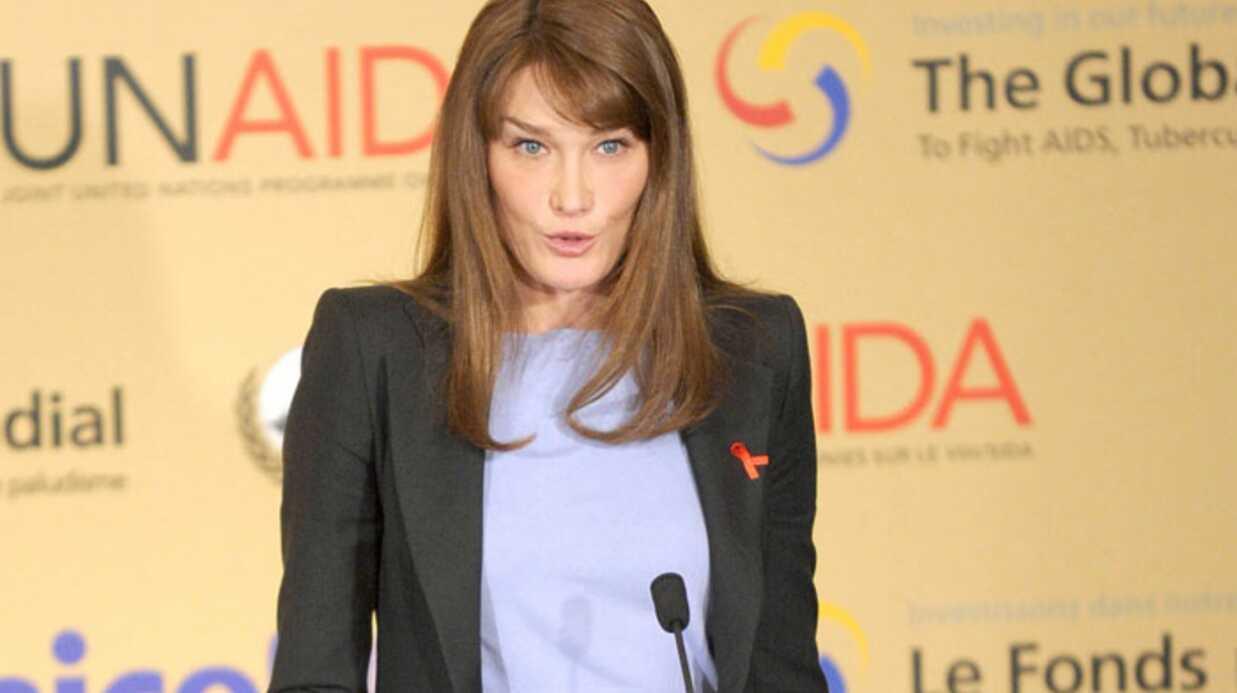 PHOTOS: Carla Bruni: lutte contre le sida